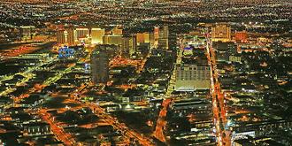 拉斯维加斯璀璨夜色