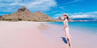 360度无死角粉色沙滩
