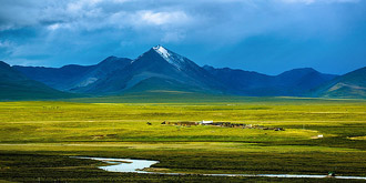坐火车去西藏拍沿途美景
