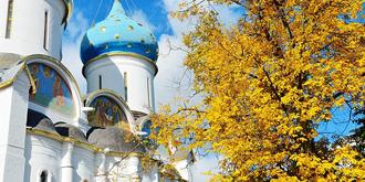 俄北小城童话般的秋天