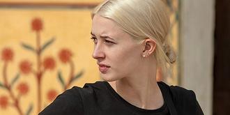 欧洲金发女郎