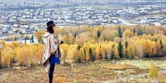 北疆最美童话村