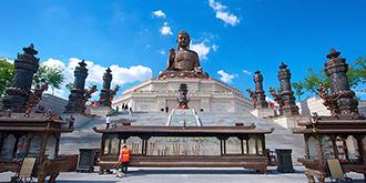 世界最高的释迦牟尼坐佛像
