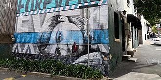 涂鸦悉尼挑战你的视觉感官