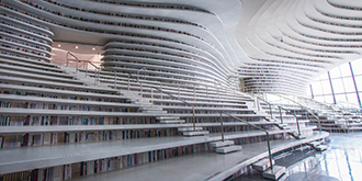 圖書館變身新晉網紅打卡地