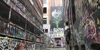 个性张扬,澳洲涂鸦街