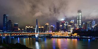中国内陆最美夜景