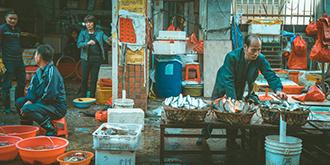 海鲜市场才是最地道的?#22969;? title=