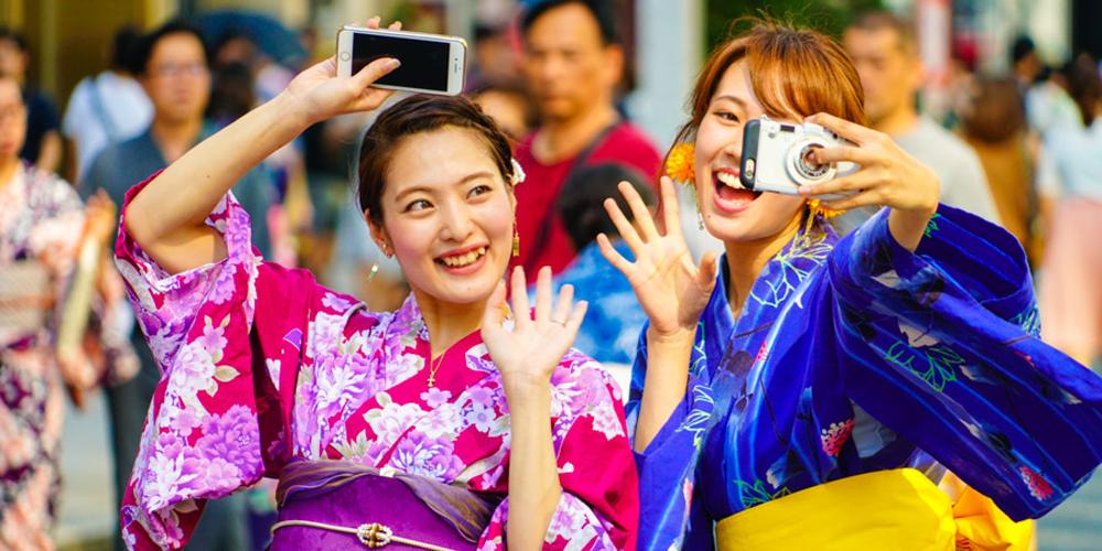 养眼!日本浴衣美女
