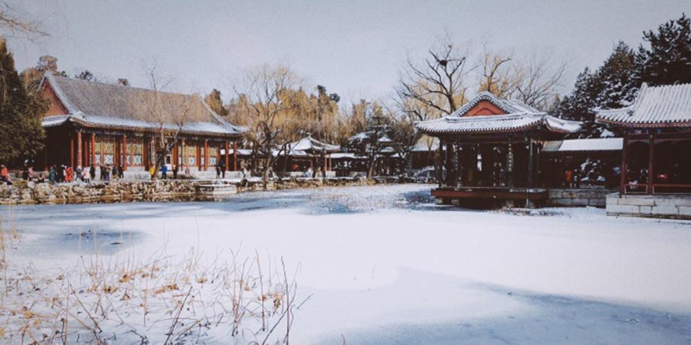 雪后颐和园仙境