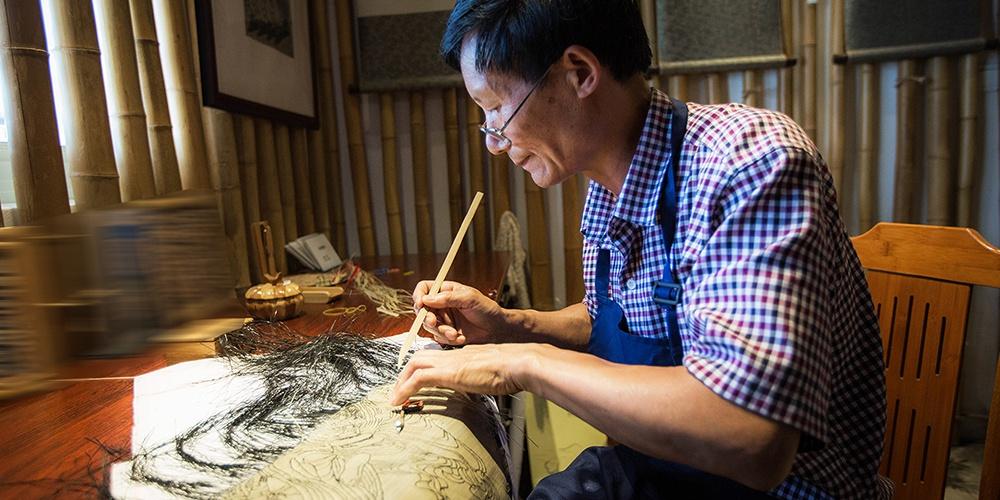 竹编画的诞生
