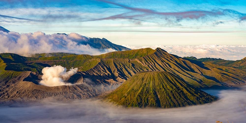 奇特火山景观