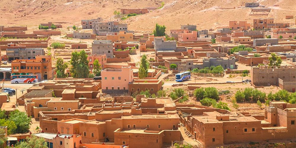 摩洛哥古村