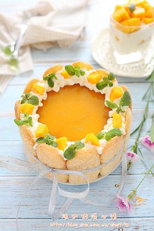 据说这个蛋糕可以治愈酷暑
