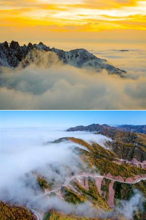 耗时三年,终于拍到这些云海图