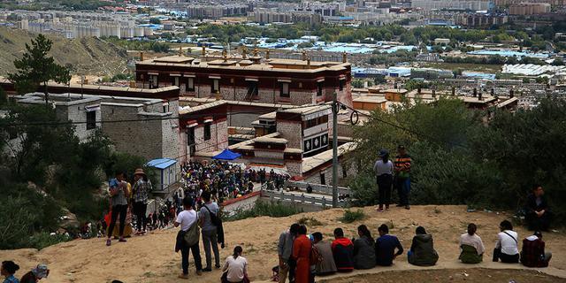 哲蚌寺,西藏最大的寺庙