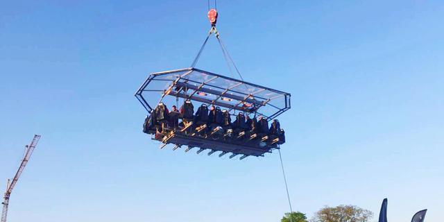 吊在50米高空的疯狂盛宴