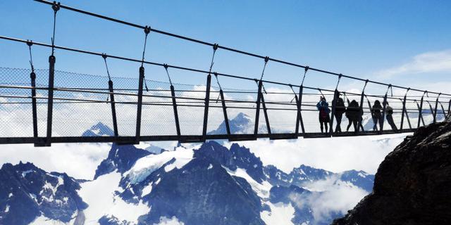 刺激!欧洲海拔最高的悬索桥