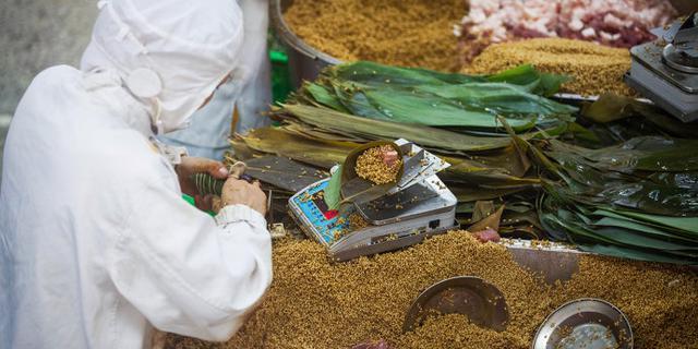 端午节探访粽子生产厂家