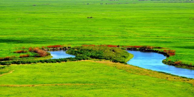 让人惊叹的醉美边界草原湿地