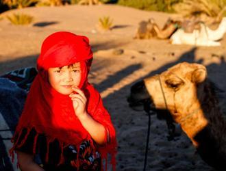 撒哈拉沙漠的面纱