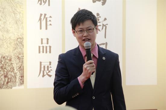 1920美术馆馆长叶庆平致答谢词