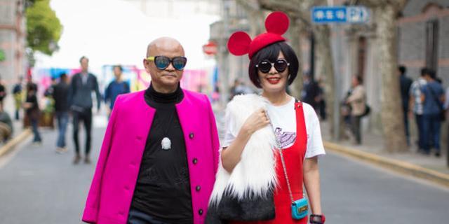上海时装周上的潮咖