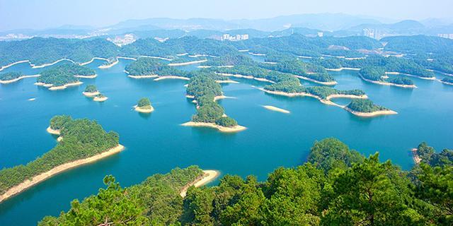 杭州千岛湖美哭了
