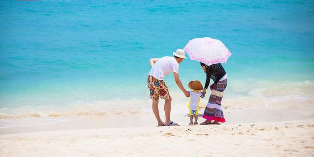 三亚蜈支洲岛尽享阳光沙滩