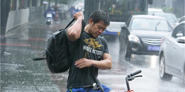 京城入夏第一场雨
