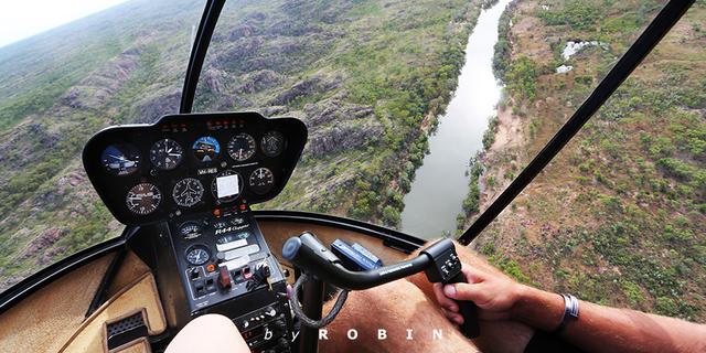 飞跃凯瑟琳峡谷