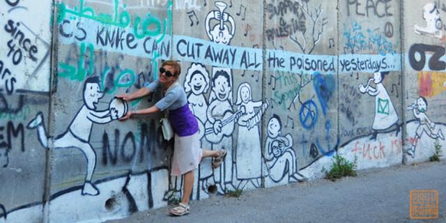 打开世界上最长的涂鸦墙之门