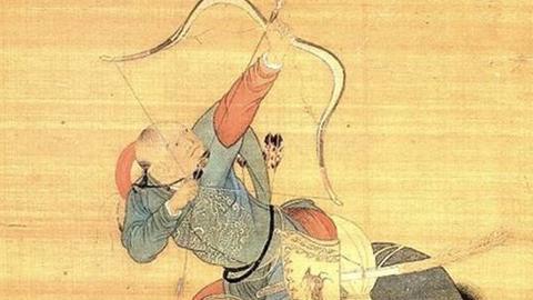清代青出于蓝的终极长稍弓:满弓