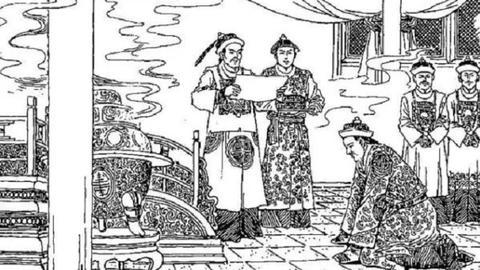 被清朝皇帝召见是怎样的情景?