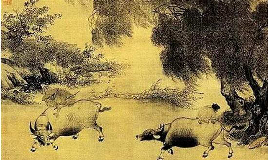 宋代佚名古画册(组图)
