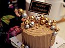 巧克力奶油生日蛋糕