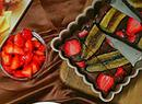 香蕉草莓巧克力