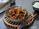 茶树菇香爆鸡块