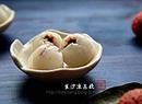 豆沙冻荔枝