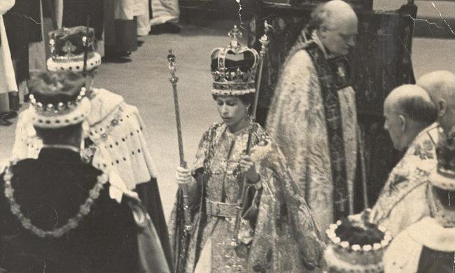 1953年6月2日,英國女王加冕日