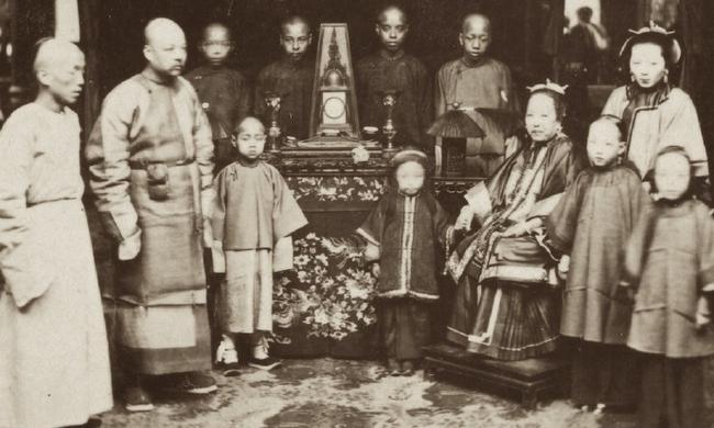 老照片:160年前的广州城