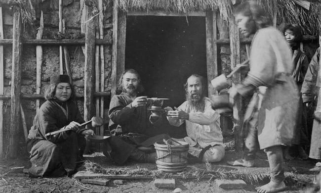 实拍库页岛上的土著:曾是大清国子民