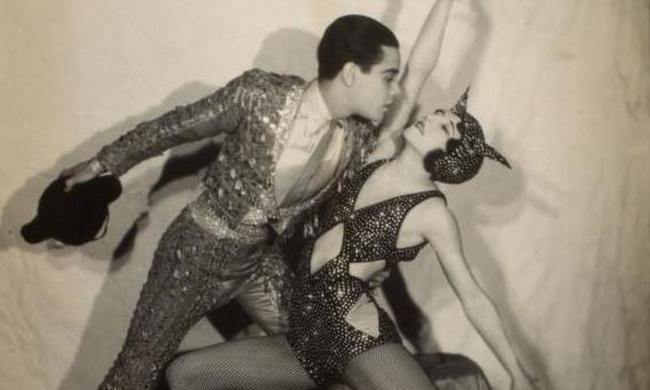 老照片:近百年前让老派人愤怒的舞蹈