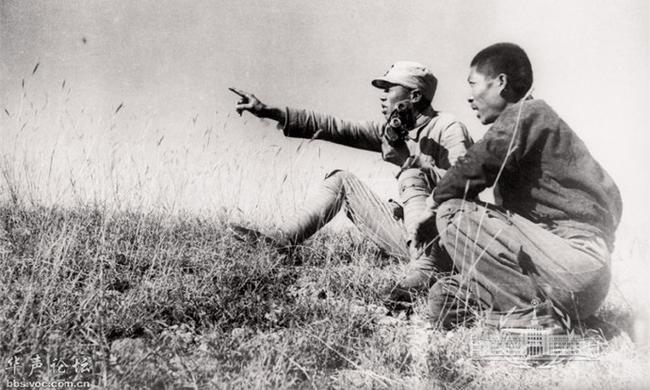 抗战时期的晋察冀,民兵配合八路军反扫荡