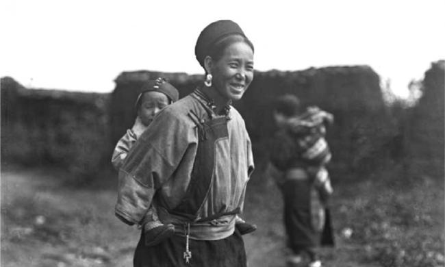 老照片:1917的云南省腾冲县