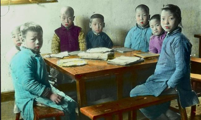 上色老照片:百年前的杭州