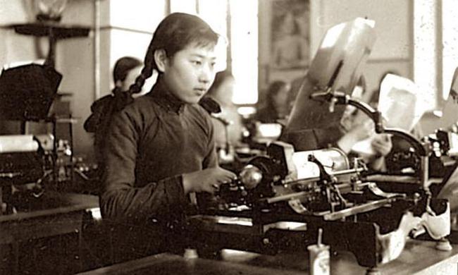 老照片:三十年代末京城生活,彼時的職業女性