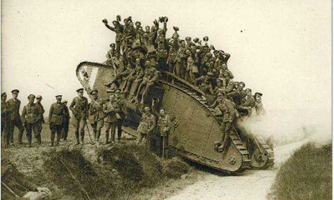 MarkI坦克是历史上最烂的坦克