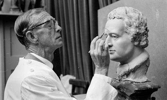 老照片:六十年代杜莎夫人蜡像馆复杂的制作过程