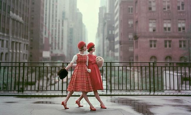老照片:1950年代美國人的時尚生活